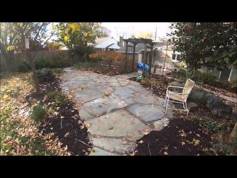 Natural Stone & Brick Patios with Natural Stone Walkways