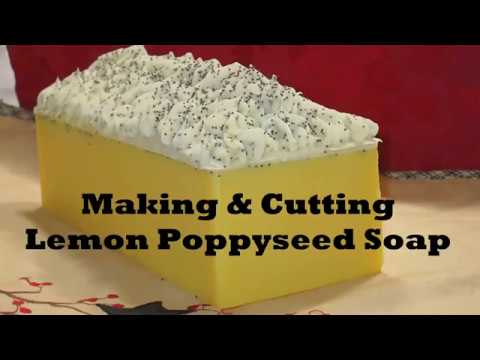 Making Lemon Poppyseed Soap - Express Quick Edition