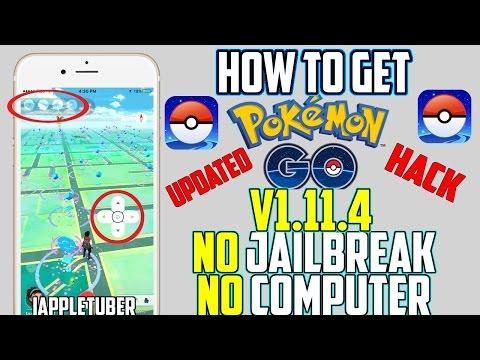 Pokemon GO HACK 1 11 4 iOS 10 / 9 3 5 NO Jailbreak & NO