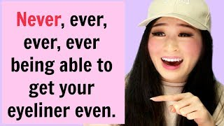 Funny And Relatable Struggles About Makeup