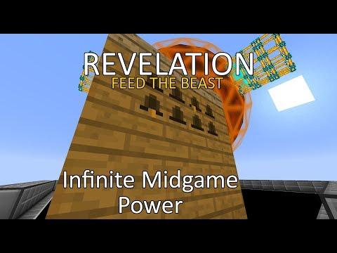 FTB Revelation - Insane Mid-Game Power Setup - INFINITE POWER