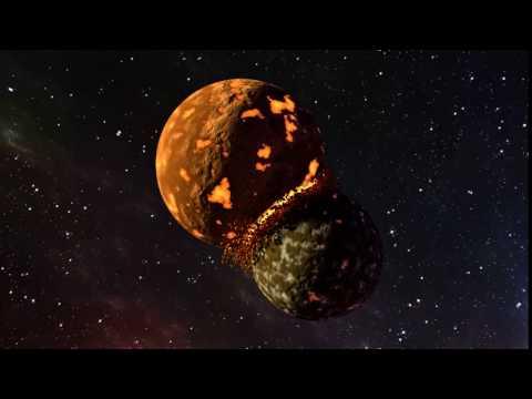 Planet Collision - Blender