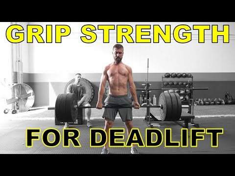 3 Exercises to Improve Grip Strength for Deadlifts (Guaranteed!)