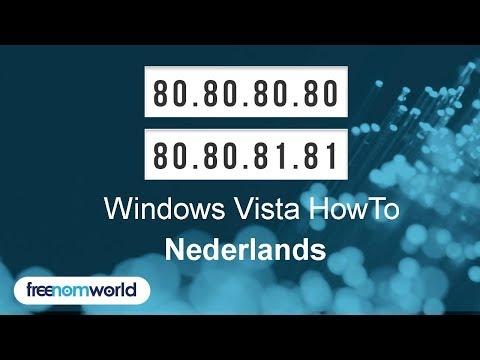 Freenom World Windows Vista HowTo (Nederlands)