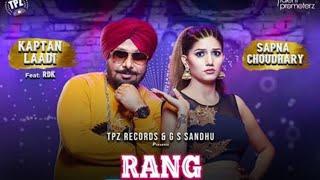 Kaptan Laadi with Sapna Chaudhary new upcoming song