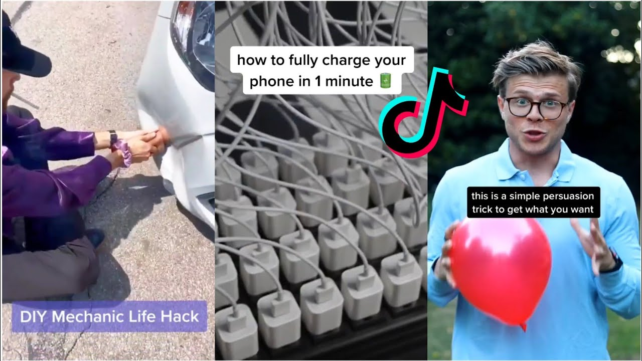 TikTok Life Hacks you will probably Never need in your life