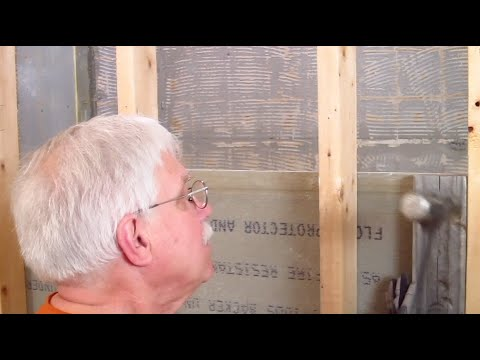 Bath Remodel AskTheBuilder How to Remove Cement Board