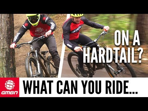 How Hard Can You Ride On A Hardtail Mountain Bike?