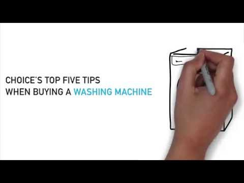 Top 5 tips for buying the best washing machine - CHOICE