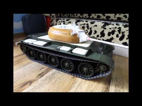 How to build a homemade rc tank (T-55A)