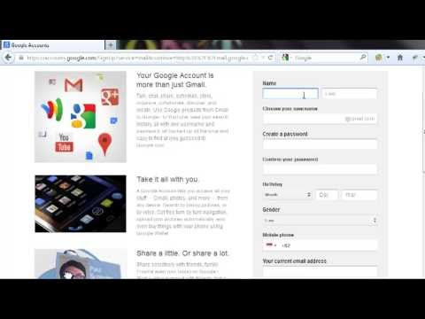 Cara Buat Email Gmail / Akun Google | Bisnis Online FbWarrior