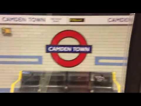 Euston To Camden Town Passenger Ride