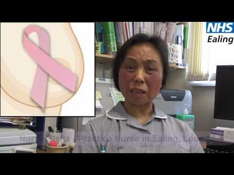 Breast Cancer Awareness in Cantonese - NHS Ealing
