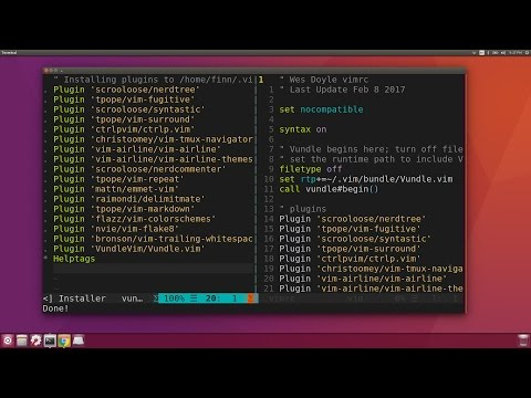 Configuring Ubuntu for Software Development