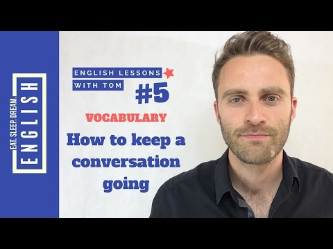 How to Keep a Conversation Going in English