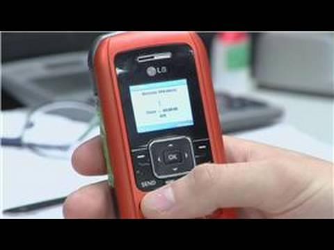 Cell Phone Tips : How to Change a Verizon Wireless Cell Phone Number