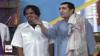 TEZGAM ZAFRI KHAN & SHAZEB MIRZA - PUNJABI STAGE DRAMA COMEDY CLIP - HI-TECH PAKISTANI