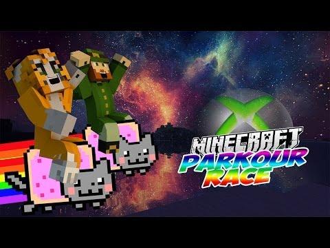 Minecraft Xbox360 - Parkour Race