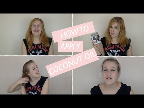 How To... Apply Virgin Coconut Oil to Your Hair | Sara Steele