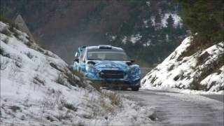 Eric Camilli testing Monte Carlo 2017 Ford Fiesta WRC 2017