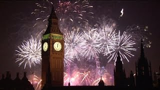 London Fireworks 2015 - New Year