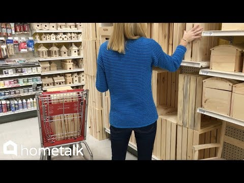 How to DIY an Entryway Storage Bench with Michaels Crates