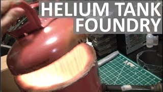 HELIUM TANK FOUNDRY - EASILY MELT METAL AT HOME! - ELEMENTALMAKER