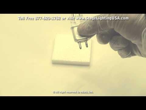GLA 575 watt G9.5 Bi-pin base Tungsten Halogen Light Bulb