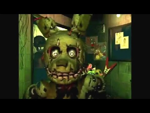 Springtrap gets 1080 360 titty nacked by a 4 year old while he eats spaghettio's