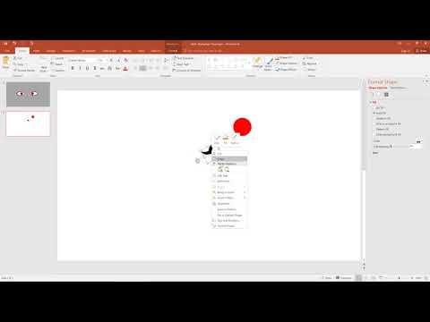 Create Itachi's Mangekyo Sharingan using PowerPoint