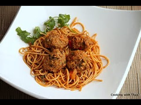 Instant Pot Spaghetti and Meat Balls