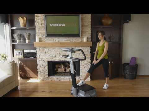 Vibration Exercise Fitness Machine - How to do 10 minute vibrating workout - Vibraslim