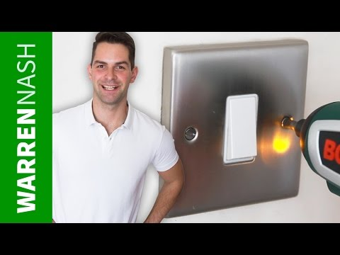 How to change a light switch UK - Easy DIY by Warren Nash