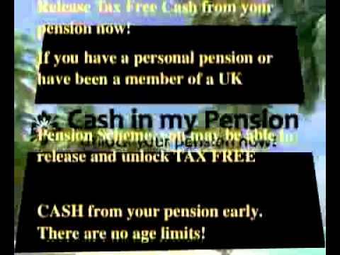 UK cash in  your pension