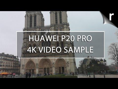 Huawei P20 Pro Camera Test: 4K Video Sample