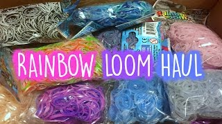 Rainbow Loom Haul