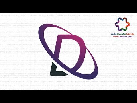 Circle Text Logo Design Tutorial using font style / Adobe illustrator Logo Design Tutorial