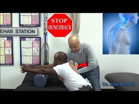 Fix Hunchback/Kyphosis ...Sitting Thoracic Mobilization Technique - Dr. Alan Mandell, DC
