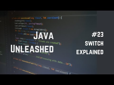 #23 Java Switch Statement Explained