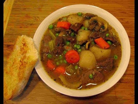 Hearty Homemade Country BEEF STEW Recipe