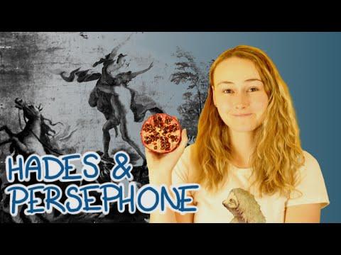 Hades and Persephone    Mythology 101