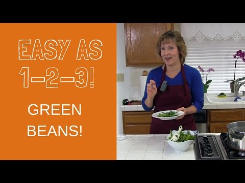 How to Cook Green Beans on the Stove: Cook Fresh Green Beans for Dinner in Boiling Water
