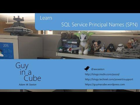 SQL Service Principal Names