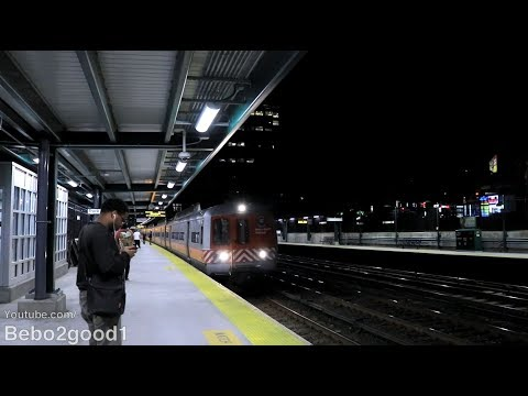 Metro-North M2 on the New Haven Line Train at Fordham, NY RR