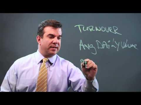 Turnover & Average Daily Volume in Market Capitalization