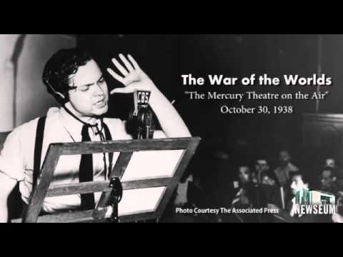 War of the Worlds 1938 Radio Broadcast