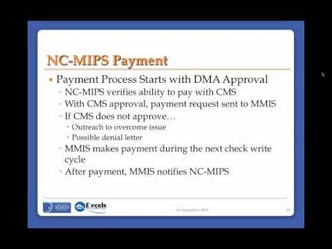 NC Medicaid Incentive Payment System Walkthrough