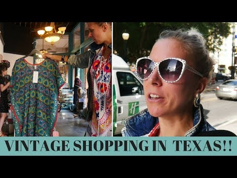 Is There Vintage Fashion in SAN ANTONIO, TEXAS?!