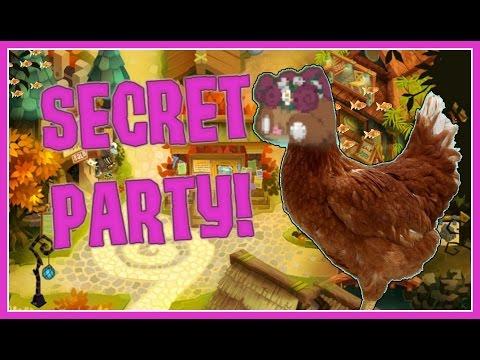 ANIMAL JAM: I Found A Secret Party!