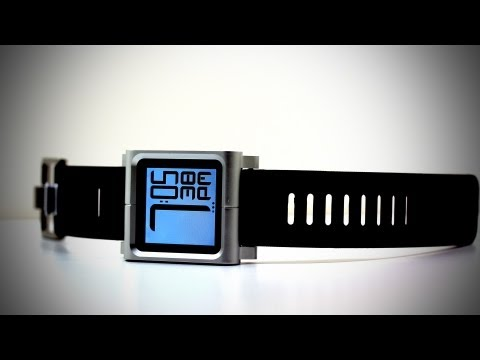 LunaTik iPod Nano Watch Strap Unboxing & Review